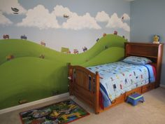 Customer Image Gallery for RoomMates RMK1132SCS Transportation Peel & Stick Wall Decals
