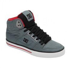 Tênis DC Shoes Men's 303435 Spartan HI WC TX Shoes Blue Ashes 303435 #Tênis #DC Shoes