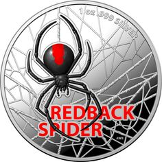 SOLD OUT! Direct Coins is pleased to offer the first proof coin in the new Australia's Most Dangerous series, featuring the beautiful but potentially deadly Redback spider. Loved for its beauty and feared for its venom, the Redback spider (Latrodectus hasselti) can be found throughout Australia. They are especially common living among humans, where they build their webs in dark places in our homes and gardens. Redback Spider, Proof Coins, Dark Places, Venom, Silver Coins, Gardens, Australia, Homes, Beauty