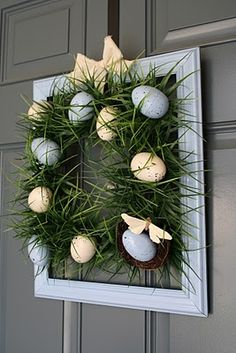 Spring Grass Easter Wreath–Guest Tutorial