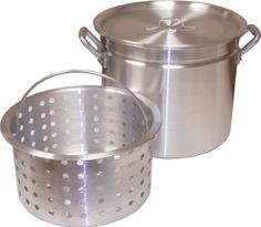 King Kooker KK80R Aluminum Pot with Basket and Lid 80Quart -- You can find out more details at the link of the image.