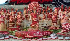 Strange is not a word : the most bizarre festivals around the global village NIGHT OF THE RADISHES , OAXACA , MEXICO