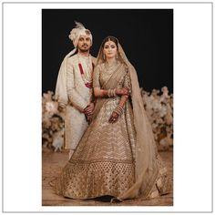 Bride Groom Photos, Indian Bride And Groom, Wedding Looks, Bridal Looks, Wedding Lehanga, Saree Gown, Wedding Couple Poses Photography, Indian Bridal Outfits, Indian Designer Wear