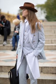 See the best street style looks from Paris, New York, London and Milan as BAZAAR follows the most fashionable around the world for Fashion Month.