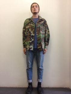 Vintage Men's American Army Camo Jacket      Click to Buy!