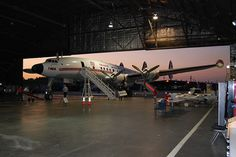 Kansas City's Airline History Museum's L1049H Constellation