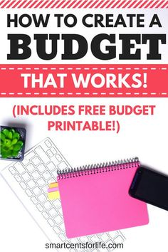Learn how to create a budget that actuallly works. A simple beginners guide with a free monthly budget template included. Monthly Budget Worksheet, Budgeting Worksheets, Budgeting Finances, Budgeting Tips, Monthly Expenses, Printable Budget, Free Printable, Making A Budget, Create A Budget