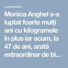 Monica Anghel s-a luptat foarte mulţi ani cu kilogramele în plus iar acum, la 47 de ani, arată extraordinar de bine reuşind să aibă 65 de kilograme. Vedeta a spus că nu se opreşte aici şi va mai ţine aces regim pentru a mai da jos câteva kilograme. Monica Anghel a dezvăluit dieta miraculoasă pe … Mai
