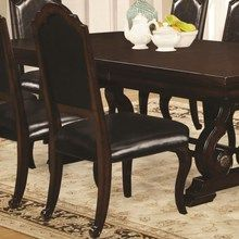 Bedford Dining Side Chair w/ Upholstered Seat (4)