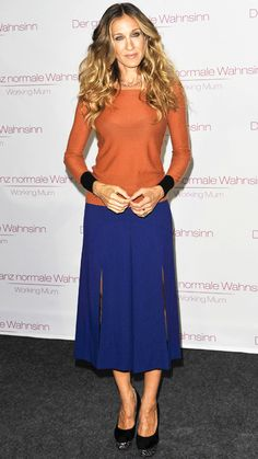 Stars Show You How to Be Stylish & Age-Appropriate with Your Hemline - Sarah Jessica Parker from #InStyle