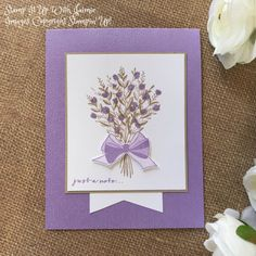Stampin' Up! Wishing You Well Card – Stamp It Up with Jaimie Wish You Well, Wishing Well, Stamping Up Cards, Get Well Cards, Fall Cards, Sympathy Cards, Flower Cards, Greeting Cards Handmade, Homemade Cards