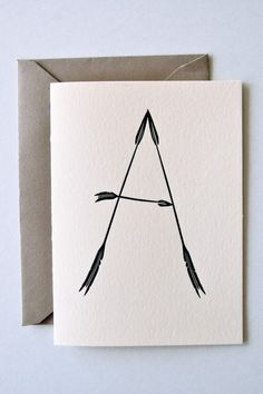 A is for arrow!