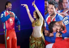 Watch pics when RCB players practiced with belly dancers ahead of SRH match