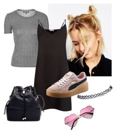 """""""Grunge Spice """" by jessahh on Polyvore featuring ASOS, Topshop, Sandro, Puma, Wet Seal, women's clothing, women, female, woman and misses"""