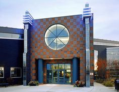 Ypsilanti District Library Whitaker Branch is a beautiful building