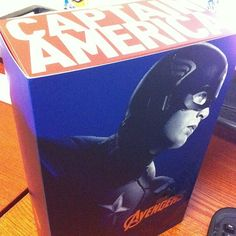 Obtained 12.15.2012: The Avengers: Captain America Movie Masterpiece 1:6 scale action figure by Hot Toys