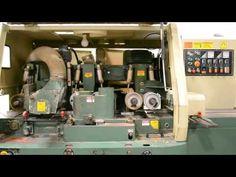Máy chế biến gỗ - máy bào 4 mặt 6 trục cũ