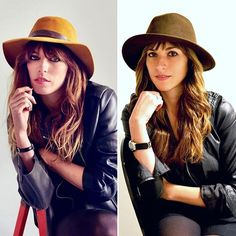 Whatever your style, I promise it's easy to wear it without involving animals. The version on the right is vegan.✨This was a fairly simple recreation for Lou Doillon; she often adds one very eclectic, rare item when she dresses, but I think this image captures her essence. My #fauxleather jacket is about 6 years old; hadn't worn a watch for a while, this is a Nixon faux leather chain bracelet watch I bought 7 years ago; found this #fauxwool hat at a market a couple of years ago... If you're…