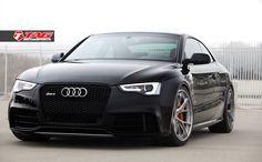 "Hello Darnkess! Audi RS5 on 20"" HRE S101 & Lambo Orange Calipers - TAG Motorsports"