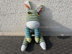 Que faire avec des vieilles chaussettes! » le Petit Monde de la Couture et de la Broderie