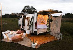 DIY: Festival Van Set Up