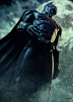 The Dark Knight: Night Shift - Batman by Isidore Koliavras   Isikol