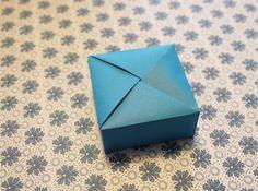 5.th.e: 5. dec - DIY gaveæske origamistyle
