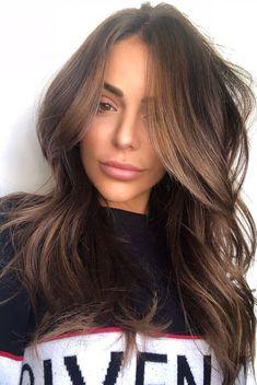 Brown Hair Natural Highlights, Brown Hair Inspo, Light Brown Hair Dye, Lighter Brown Hair, Natural Brown Hair, Dyed Natural Hair, Brown Hair Balayage, Ash Brown, Lightest Brown Hair Color