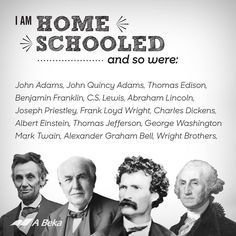 """Fun to share with our homeschoolers!  >>Wanted to add, C.S. Lewis was only homeschooled until he was 10. When his mother died he was sent to a 'brutal' (his description) school. Fun fact: """"...Headmaster, Robert """"Oldie"""" Capron... was later committed to an asylum for the insane."""""""