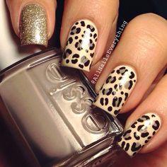 Leopard Nails Beautiful Nail Art Fabulous Designs