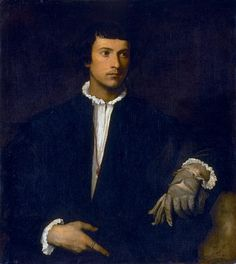 Man with a Glove - Titian