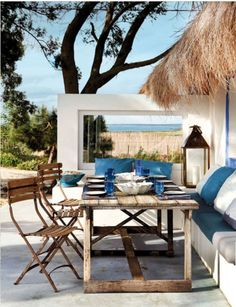terrace goals Outdoor Rooms, Outdoor Dining, Outdoor Furniture Sets, Outdoor Decor, Dining Area, Outdoor Seating, Outdoor Patios, Outdoor Kitchens, Dinning Table
