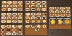 Inedible Edibles Part 2 Smorgasbord by Madhox at Mod The Sims • Sims 4 Updates