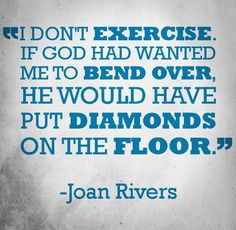 #RIP Joan Rivers <3 #qotd #quotes #diamonds
