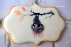 Small Bat - Cake by Anna Bonilla