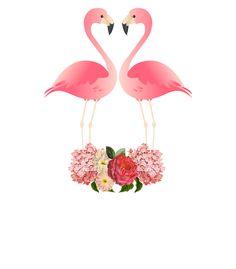 Juliana Zimmermann - Flamingos in love
