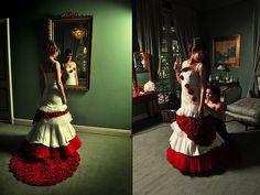 Vestidos de novia exclusivos y con color!...  Fran Vallejos, La revolucion de las novias a color   contacto@franvallejos.cl  76493792
