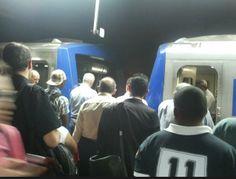 #metrosp #tremquebrado #sampa