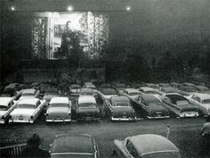 """The price was a dollar per car during """"buck"""" nights in the 1950s and 1960s."""