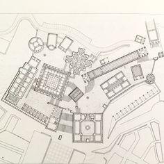 Plan of the Acropolis in Leon Krier's Utopian city Atlantis, 1988