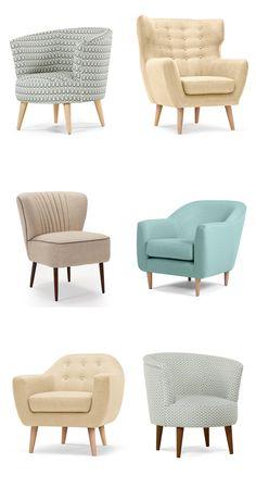 Jolis fauteuils rétro chez Made