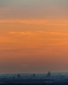 Heaven over Cologne... by Screeny's Photo Bucket on Creative Market