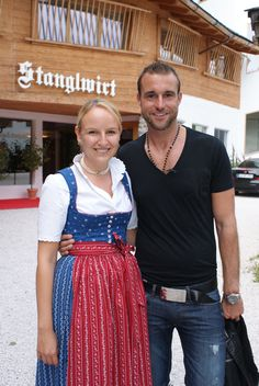Maria Hauser und Philipp Plain (via @Biohotel Stanglwirt) - www.stanglwirt.com--they are such wonderful people!