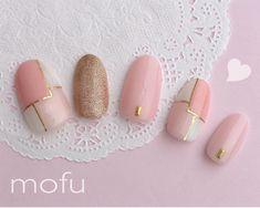 Nail Manicure, Gel Nails, Classy Nails, Gel Nail Designs, Nail Arts, Pink Nails, Truffles, Pretty Nails, Art