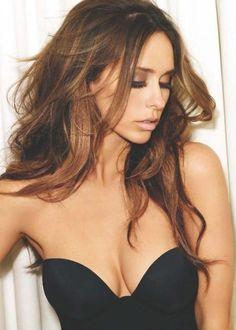 Brunette hair with caramel highlights. #Hair #Beauty #Brunette Visit Beauty.com for more.
