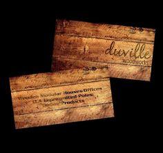 Handyman Carpenter Woodwork Business Card Templates | My Style ...