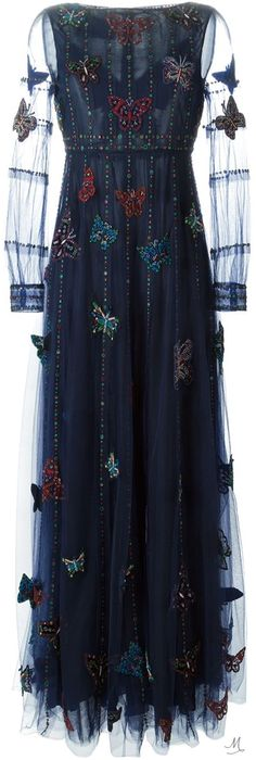 Shop for butterfly applique tulleevening dress by Valentino at ShopStyle. Fashion Wear, Womens Fashion, Valentino Couture, Italian Fashion Designers, Designer Dresses, Designer Clothing, Fashion Labels, Playing Dress Up, Vintage Dresses