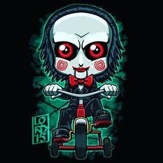 Lordmesa Art — Jigsaw!!!    #Saw #jigsaw #halloween...