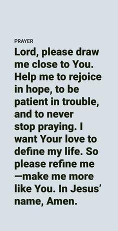 Prayer Scriptures, Faith Prayer, God Prayer, Bible Verses Quotes, Life Quotes, I Want You Love, Christian Affirmations, Short Prayers, Bible Encouragement