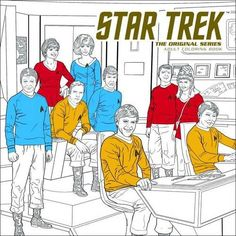 Star Trek: The Original Series Adult Coloring Book by CBS. Set a course for coloring creativity with the original Enterprise crew! This beautiful adult coloring book features 45 stunningly detailed, black and white images to color in any way you choose! With all brand new original illustrations by an amazing crew of artists, this is a must-have collectible for Star Trek fans everywhere! Dark Horse enters the adult coloring book market in their ususal grand style with popular licensed...